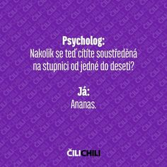 Výsledek obrázku pro cilichili facebook Funny Moments, Book Quotes, Quotations, Funny Jokes, Chili, Haha, Laughter, Funny Pictures, Thoughts