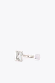 Aesa Pool And Cube Ring (Silver)