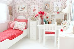 Dormitorio OOAK Diorama Pequeño cuento de por MoonchildSilverdream
