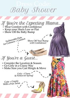 What to Wear to a Spring Baby Shower! {Another one to check out on my blog: vanessalachey.com}