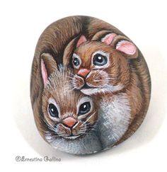Miniatures - Painted rocks