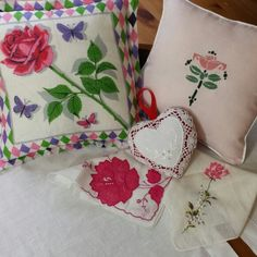 Wow your valentine with a gift of unique, handmade decor.  With simple, elegant roses;  beatuful red and white lace; bold romantic patterns; and more, there's somthing sure to please every style.