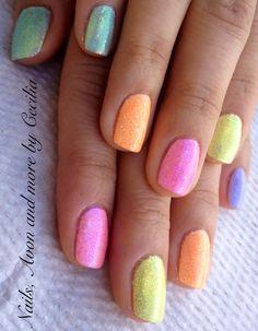 Shellac additives Easter Nails