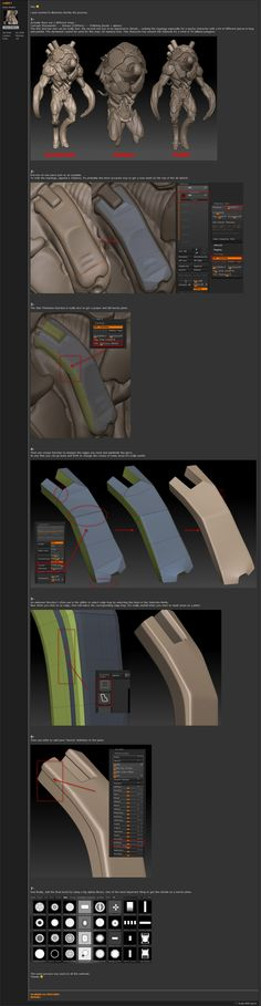 Cedric Seaut's Hard Surface Process. #3d #sculpting #tutorials