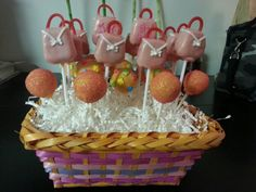 Thirty one purse cake pops