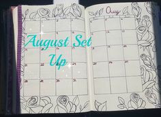 PlanneryButterfly: August Setup