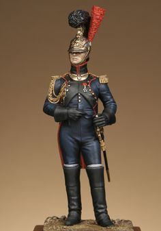 Officer of engineers of the guard, France.