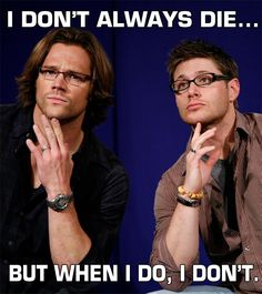 Jared and Jensen - in glasses- in a funny meme :D