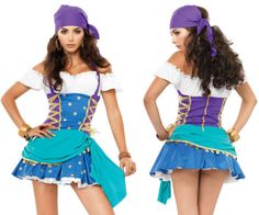 Sexy Witch Pirate Halloween Costume Latin Dance Navy Sailor Uniform Party Show Princess Fancy Dress Costume, Disney Fancy Dress, Disney Princess Costumes, Pirate Halloween Costumes, Adult Costumes, Cosplay Costumes, Cosplay Diy, Carnival Costumes, Adult Halloween