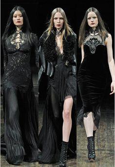 Glamour goth