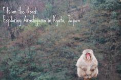 Fits on the road: Exploring Arashiyama in Kyoto, Japan
