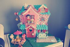 customized mini lalaloopsy house