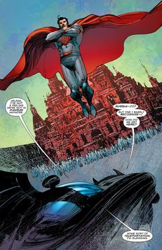 """Convergence: Detective Comics #1 - """"Powers and Responsibilities...!"""" (2015) pencil by Denys Cowan ink by Bill Sienkiewicz color by Chris Sotomayor & Felix Serrano"""