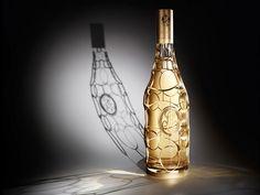 Roederer Cristal Jeroboam limited edition champagne gold bottle photo