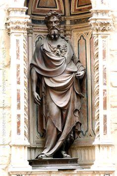 Lorenzo Ghiberti - San Giovanni Battista presso la chiesa di Orsanmichele a Firenze, 1412-16