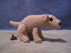 PATTERN  Pooping Dog Amigurumi  funny gift for by sandsteeldesigns, $4.50