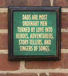 """Father's Day Gift Present """"Ordinary Men"""" Wall Plaque Sign Art Vintage Style Home Decor Gift for Dad Daddy Best Dad Gift From Kids Pop Papa Great Quotes, Quotes To Live By, Inspirational Quotes, My Dad Quotes, Family Quotes, Hero Quotes, Motivational Quotes, Life Quotes, Funny Quotes"""