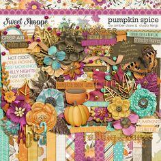 Sweet Shoppe Designs::Shop by DESIGNER::Studio Flergs::Pumpkin Spice: COLLECTION by Amber Shaw & Studio Flergs