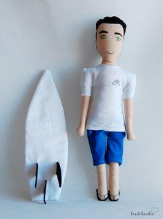 fraskilandia muñeco personalizado surfero