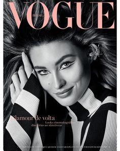 """ec2cbd8e3 Vogue Brasil on Instagram: """"Com 22 anos e quatro de carreira, a top Grace  Elizabeth (@lovegrace_e) estrela a sua segunda capa para a #VogueBrasil (e  a 15ª ..."""