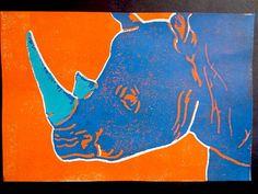 Moniväristä linopainantaa Pressman -solumuovilevyillä. Thomas Elementary Art: 4th Grade Animal Printmaking (The best printmaking project I have ever done!) #linopainanta #printmaking #diy  #artproject  #kuvataide #lastenkanssa #ideat
