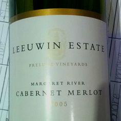 Leeuwin Estate Prelude Vineyards Margaret River Cabernet Merlot 2005