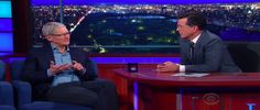 Apple CEO Tim Cook on 'The Late Show With Stephen Colbert' For more info visit: a360news.com