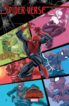 Nick Bradshaw - Spider-Verse