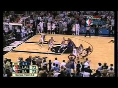 "Derek Fisher 0.4 Game Winning Shot  ""Fish - Catch - Release!""  One of the best moments of the NBA and of my life!"