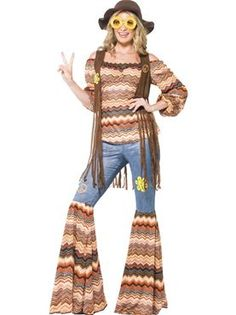 Adult Harmony Hippie Costume by Fancy Dress Ball