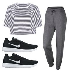 """""""Untitled #44"""" by rooloyola on Polyvore featuring NIKE and T By Alexander Wang"""