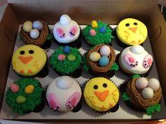 Easter cupcakes | Smallcakes Jenks, OK