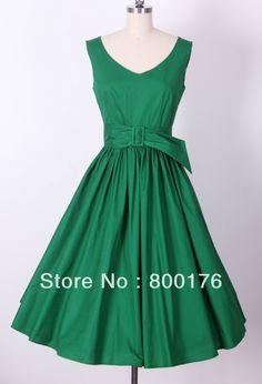 envío gratuito de tallas grandes retro inspirado estilo 50s swing baile el círculo completo de pin up rockabilly 5 vestidos de...