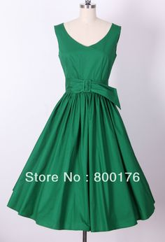 FREE SHIPPING plus size clothing retro inspired 50s style swing dancing full circle skirts pin up rockabilly dresses 5 colors  $42.55