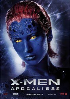 X-Men Apocalypse - Mystique. Italian promo poster.