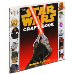 The Star Wars Craft Book by Bonnie Burton.  There is a great t-shirt quilt that I would love to make.  It's tempting, actually, to start collecting t-shirts in different themes to make several quilts.