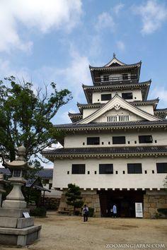 Imabari Castle in Ehime Prefecture (Shikoku): http://zoomingjapan.com/travel/imabari-castle/