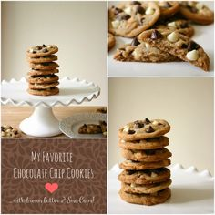 Bakergirl: My Favorite Chocolate Chip Cookies {with Sno-caps!...