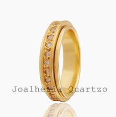 Aliança de casamento Rose, ouro 18 klts com 23 diamantes e 14 gramas o par. 9e7cff4611