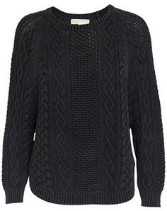 perfect black cable knit sweater | SCD Wear | Pinterest | Cable ...