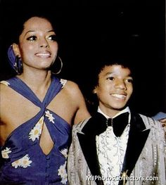 Michael and Diana Ross - 1973 - Golden Globe Awards | Curiosities and Facts about Michael Jackson ღ by ⊰@carlamartinsmj⊱