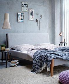 Schönes Bett. Girlinthepark: Julia Marcum. | Schlafen | Pinterest ... Schlafzimmer Nordischer Stil