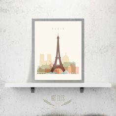 Paris printable Printable Poster Wall ArtTravel von ArtFilesVicky