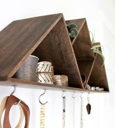 Mountain Jewelry Display Shelf
