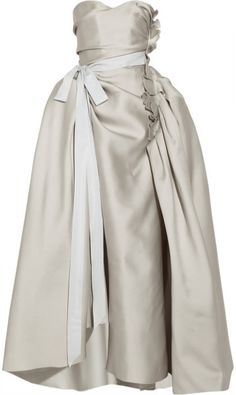 Love this: LANVIN  Duchessesatin Gown @Lyst What a wow factor gown -breathless!!