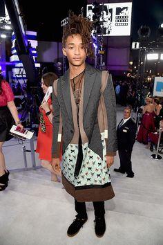 A gente adora o estilo de Jaden Smith demaaaais - o look é Undercover