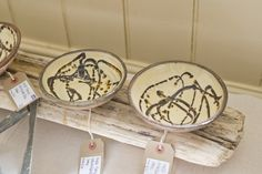 Hand thrown Earthenware by Melissa Savage