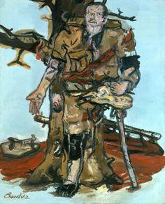 Georg Baselitz Versperrter Maler, 1965