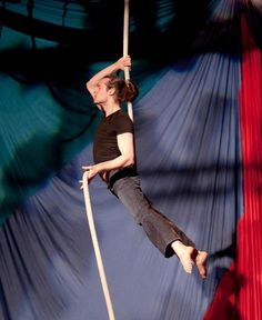 Paul Hawxhurst - Aerialists | Aerial Ropes | Paul Hawxhurst | New York, NY  Paul Hawxhurst started his circus training after being inspired by the many performers at Teatro Zinzanni: Dinner and Dreams in Seattle, WA. His initial training began at the School of Acrobatics and New Circus Arts (SANCA) in Seattle, wherein he dabbled with Static Trapeze and Chinese Pole, but fell irrevocably in love with Corde Lisse or Aerial Rope.