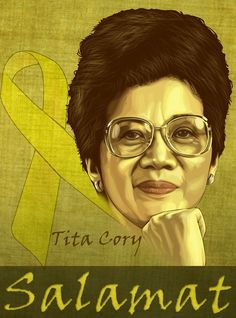 Today in History Marked the Birth of a Lady Who Would Later Become the Inventor of the 1986 EDSA Movement - President Cory Aquino